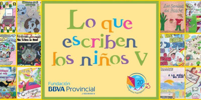 Literatura digital para niños 'Lo que escriben los niños V'